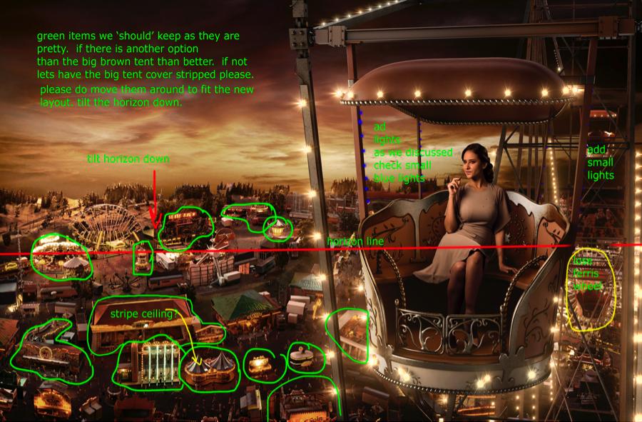 Ferris wheel, Galaxy Silkier Feel, Toufic Araman, CGI, Nelly Karim
